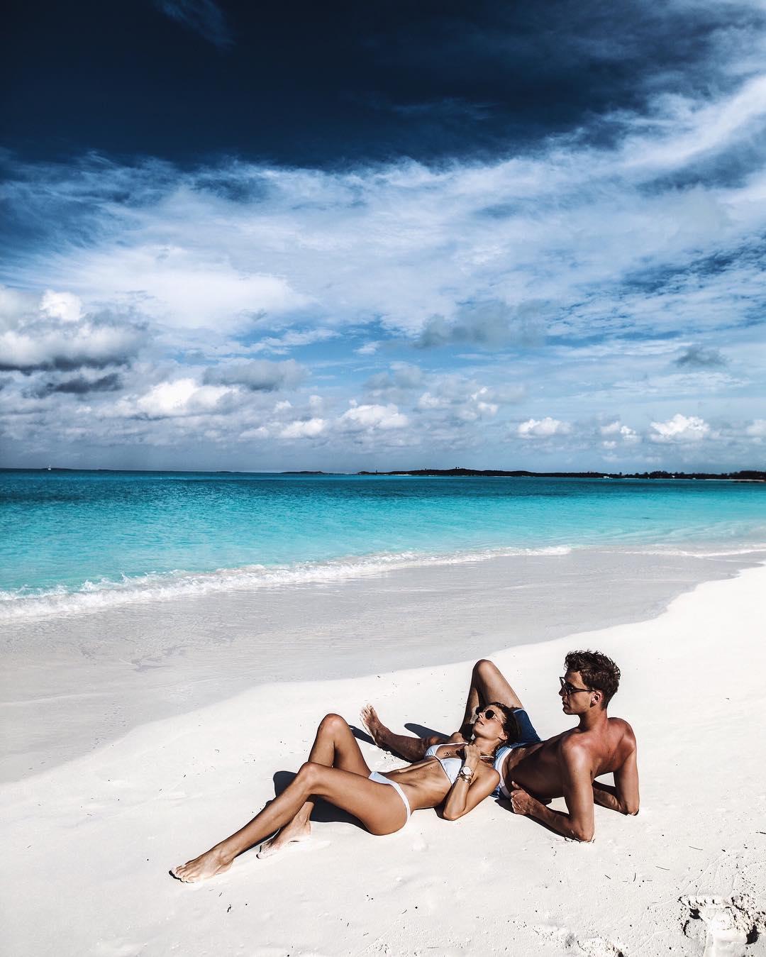 The Exumas, Bahamas. Credits to @debiflue on Instagram