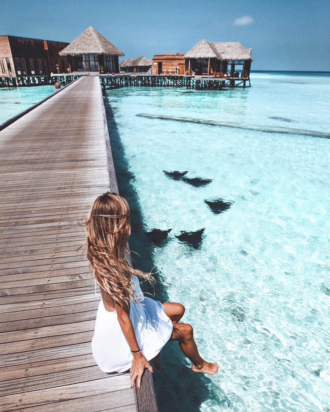 Conrad Maldives, credits to @debiflue on Instagram