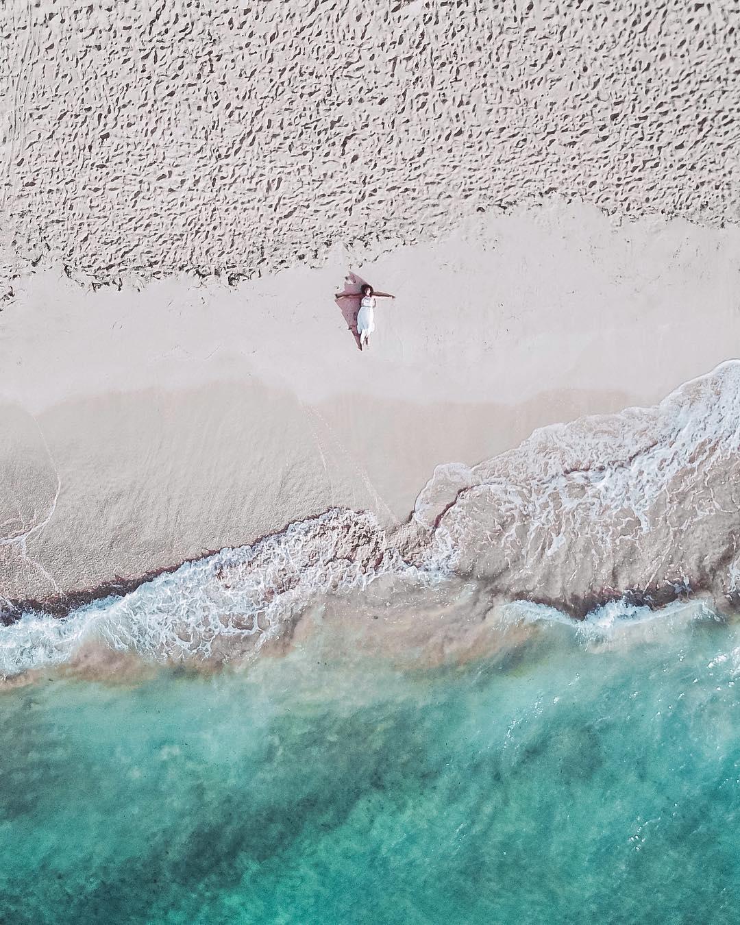 spiaggia bali drone dgtravel